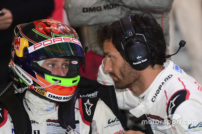 Brendon Hartley, Mark Webber, Porsche Team