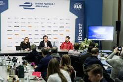 Conferenza stampa dell'ePrix di Berlino