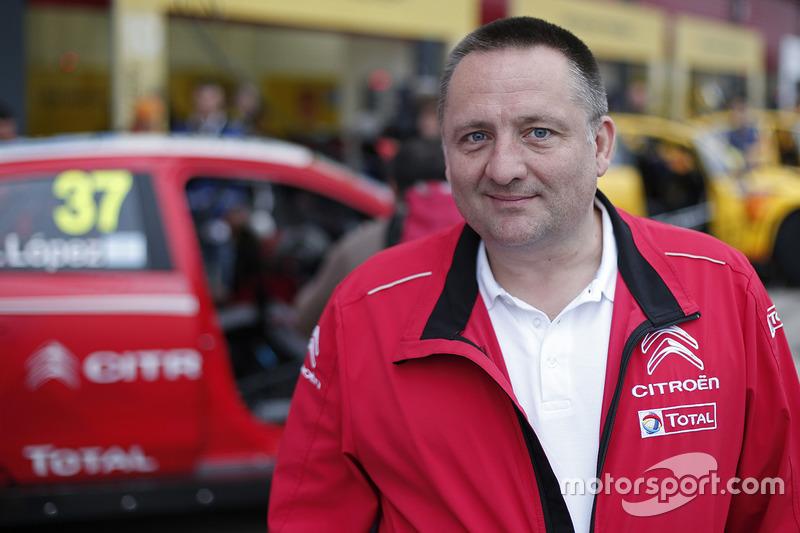 Yves Matton, Capo del Citroën World Touring Car Team