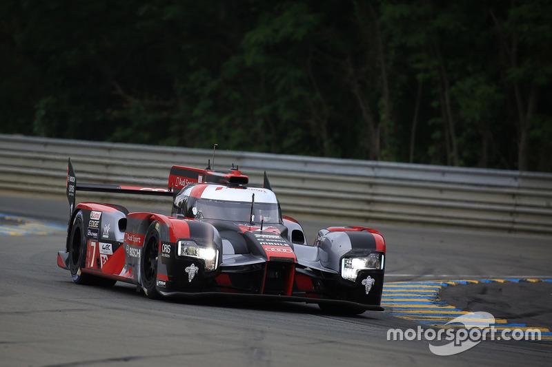 #7 Audi Sport Team Joest Audi R18: Марсель Фасслер, Андре Лоотерер, Бенуа Трелує