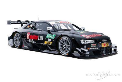 Présentation de la livrée de l'Audi RS 5 DTM