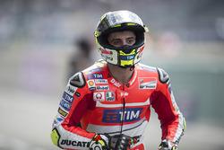Андреа Іанноне, Ducati Team після підіння під час кваліфікації