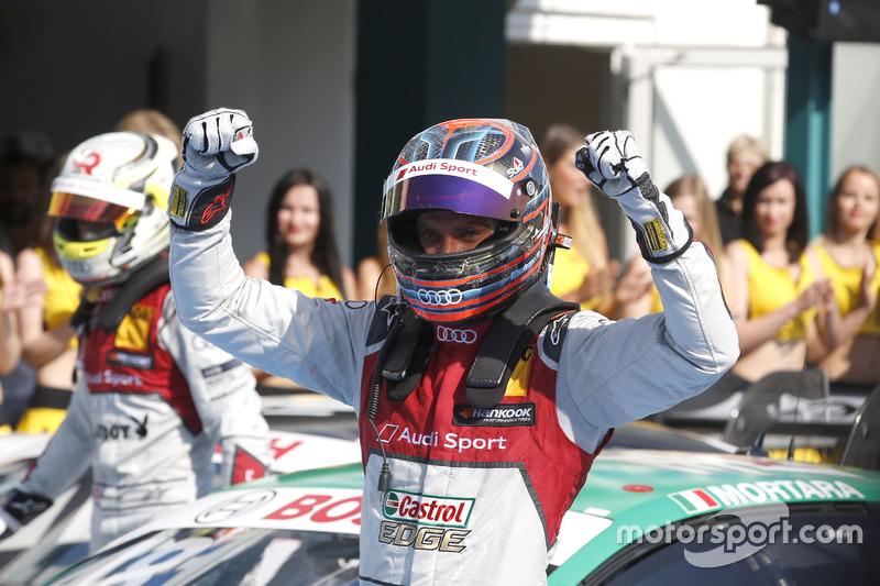 Hockenheim (Carrera 1): Edoardo Mortara, Audi Sport Team Abt Sportsline, Audi RS 5 DTM
