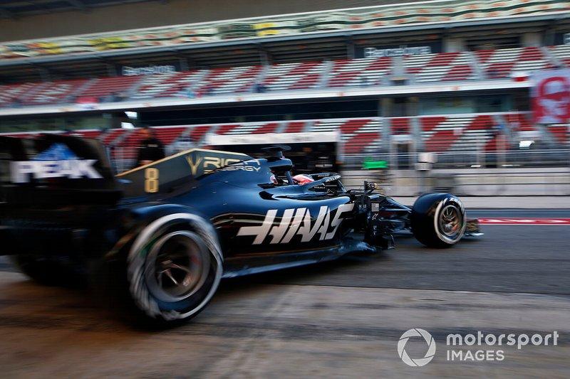 Romain Grosjean, Haas F1 Team VF-19