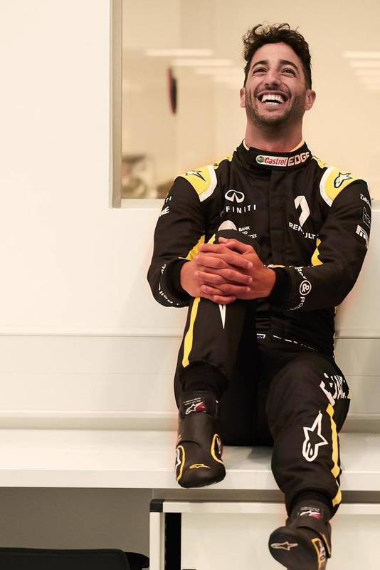 The New F1 Canna Cannova Is Set To Take Cannas To A New: Ricciardo Appears In Renault Colours For First Time