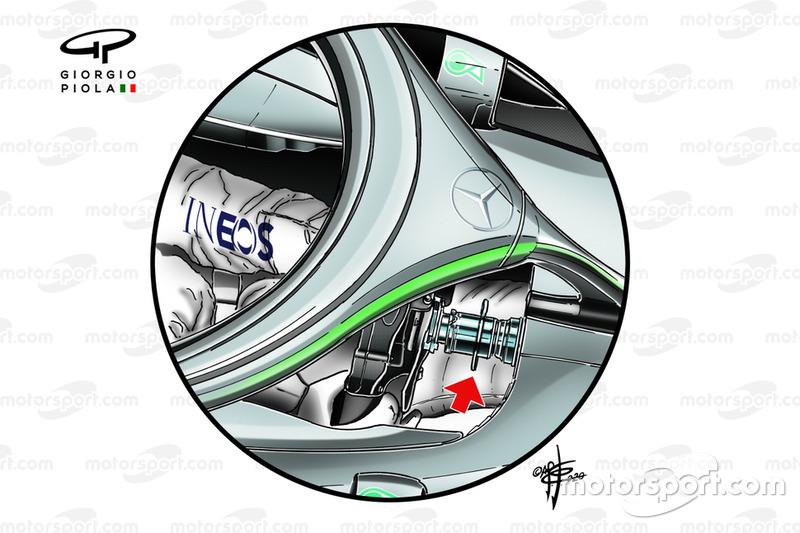 Система DAS на Mercedes AMG W11
