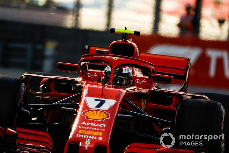 Kimi Raikkonen: Ferrari - 7 puan