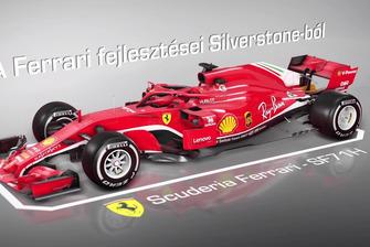 Animáció: A Ferrari fejlesztései Silverstone-ból