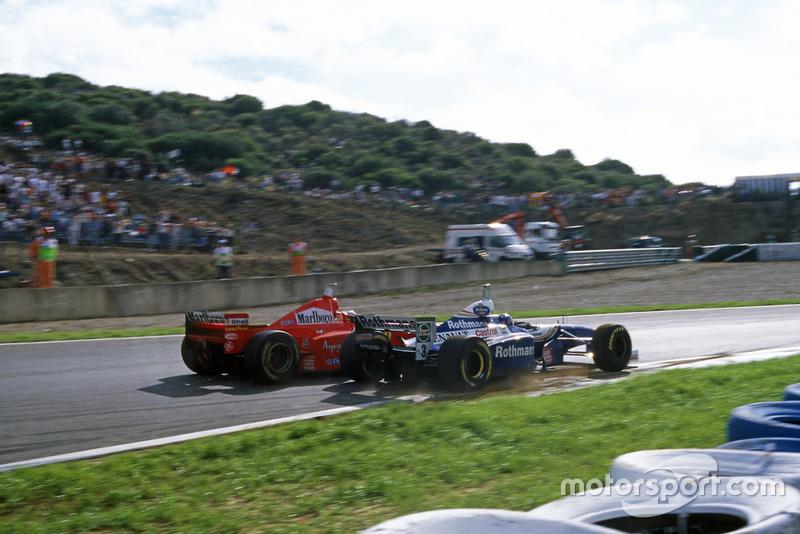 Gran Premio de Europa 1997, JACQUES LO SUPERA