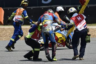Crash of Joan Mir, Marc VDS