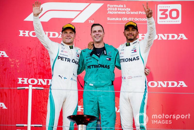 Lewis Hamilton, Mercedes AMG F1, Valtteri Bottas, Mercedes AMG F1.