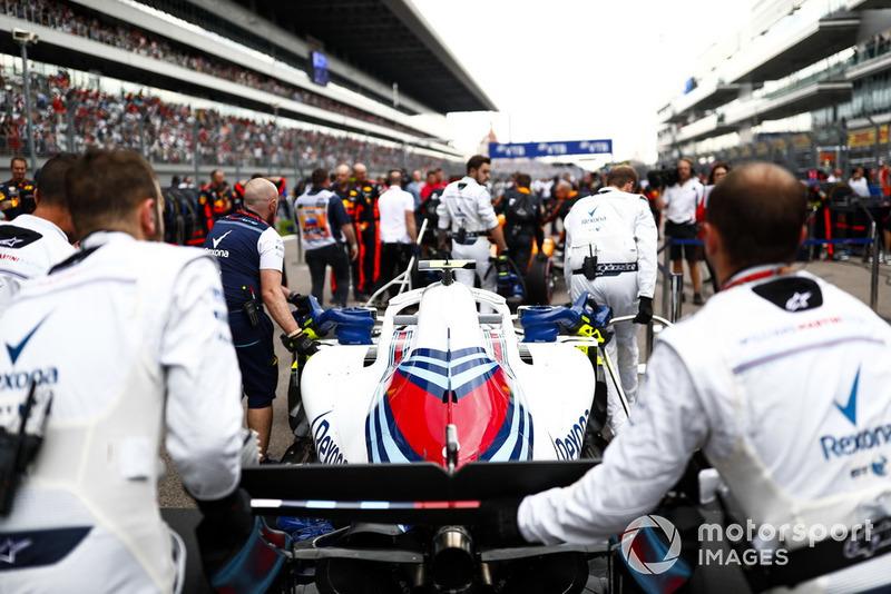 Sergey Sirotkin, Williams FW41, jelang balapan