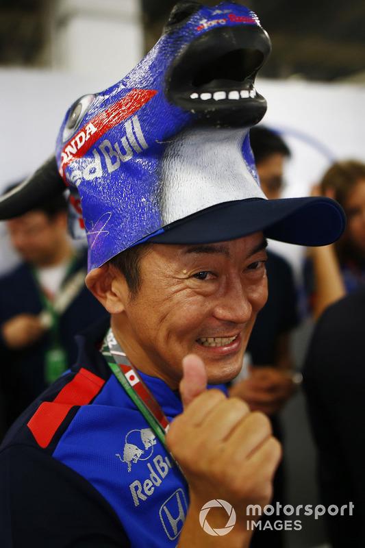 Toro Rosso Honda taraftarı