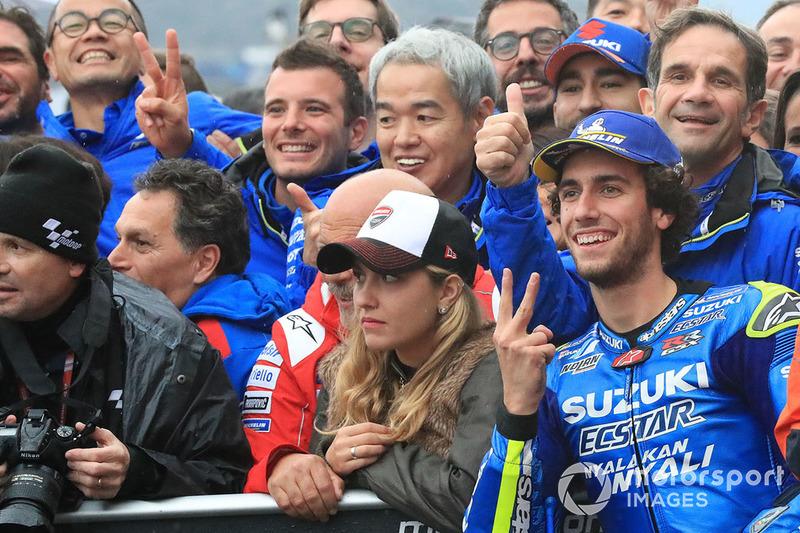 Segundo, Alex Rins, Team Suzuki MotoGP