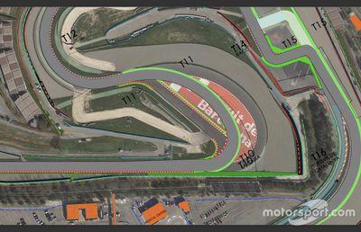 Переделка 10-го поворота трассы в Барселоне