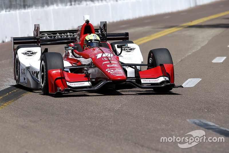 #16: Spencer Pigot (Rahal-Honda)