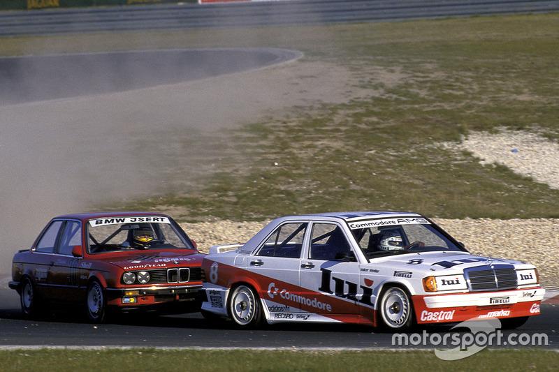 Дебют Mercedes 190E в Deutsche Tourenwagen Meisterschaft состоялся в 1985 году. В течение трех лет на машинах этой модели выступали пилоты частных команд