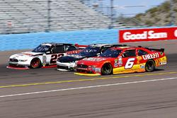 Darrell Wallace Jr., Roush Fenway Racing Ford und Brad Keselowski, Team Penske Ford