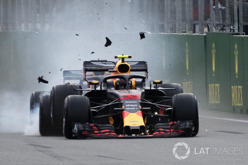 GP Azerbaijan - Max Verstappen/Daniel Ricciardo (balapan)