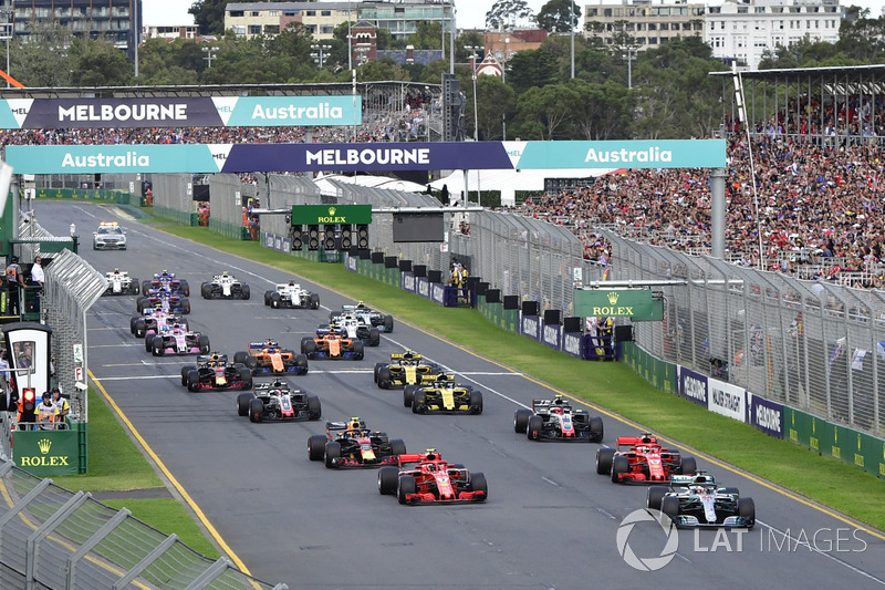 Formula 1 Livefeed Live: Follow the Australian GP as it happens