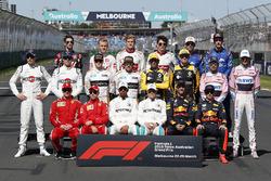 Photo de groupe des pilotes