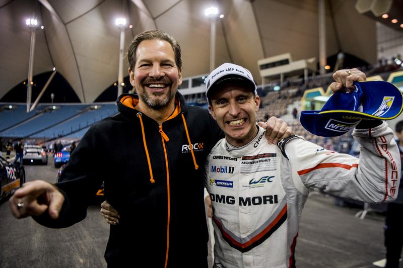 Fredrik Johnsson y Timo Bernhard del equipo Alemania