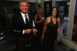 David Coulthard and Lee McKenzie