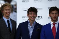Brendon Hartley, Scuderia Toro Rosso, Charles Leclerc, Sauber y Pierre Gasly, Scuderia Toro Rosso