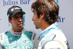 Antonio Felix da Costa, Andretti Formula E Team, parle à Nicolas Prost, Renault e.Dams