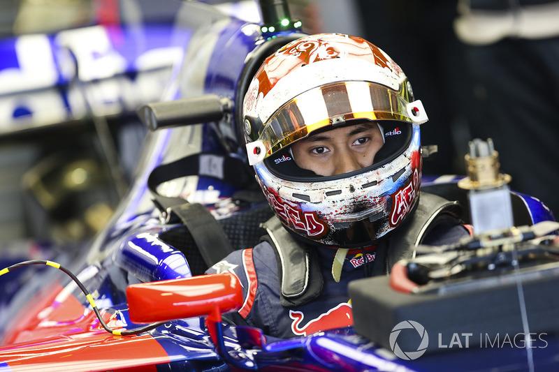 Sean Gelael, Scuderia Toro Rosso