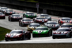 Start Race 2 Ferrari European Challenge