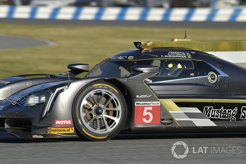 11º #5 Action Express Racing Cadillac: Christian Fittipaldi (DPi)