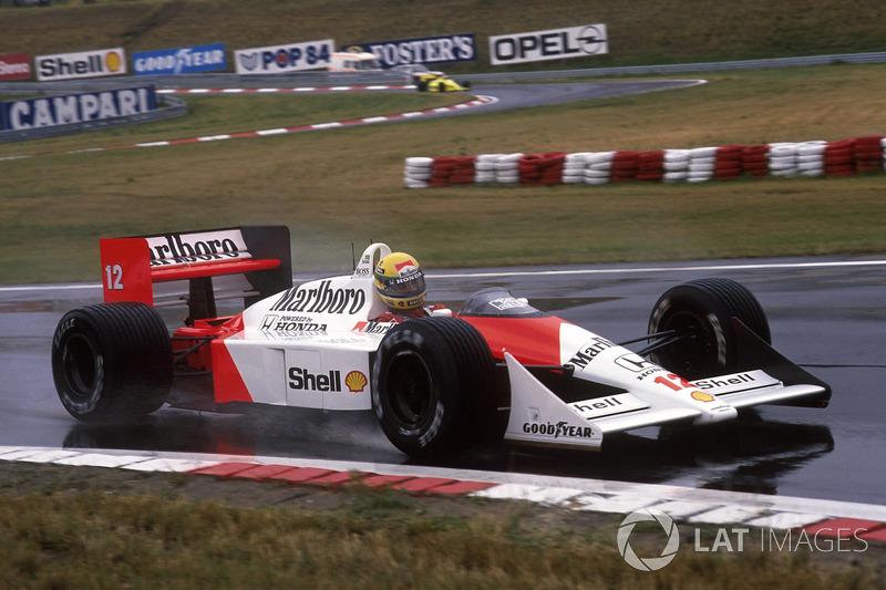 1988 Macaristan: McLaren MP4/4