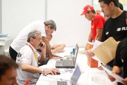 Administratieve controle voor de Dakar 2018