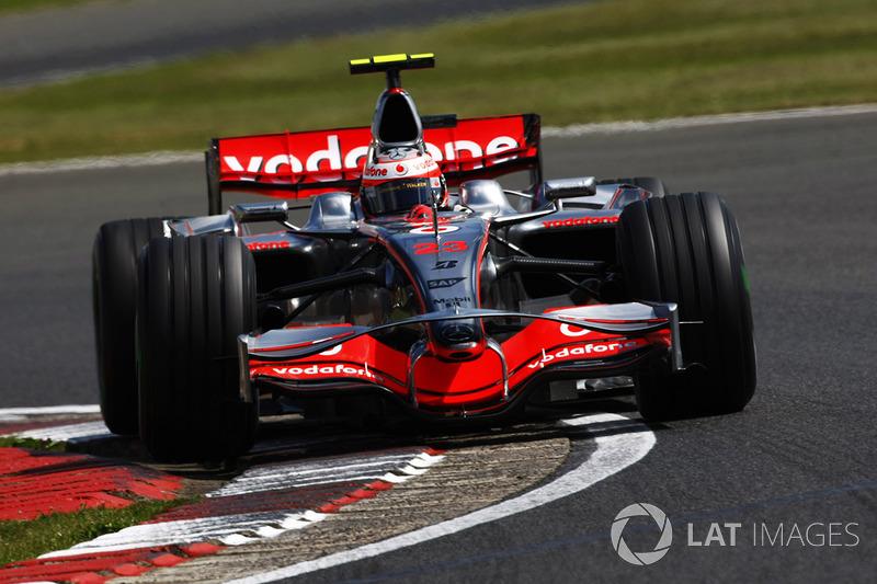 2008 - Pole position à Silverstone