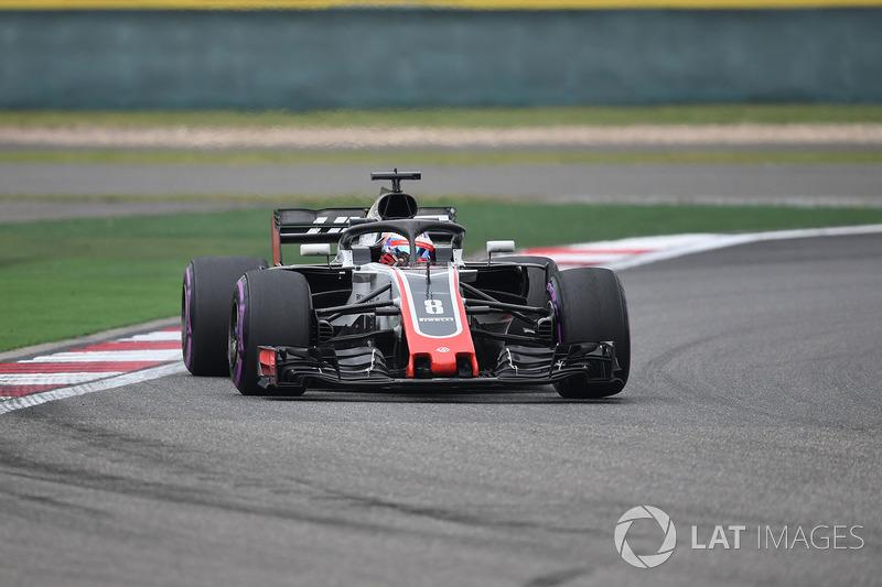 17. Romain Grosjean, Haas F1 Team VF-18