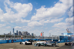 Jose Maria Lopez, Dragon Racing,leads Nelson Piquet Jr., Jaguar Racing