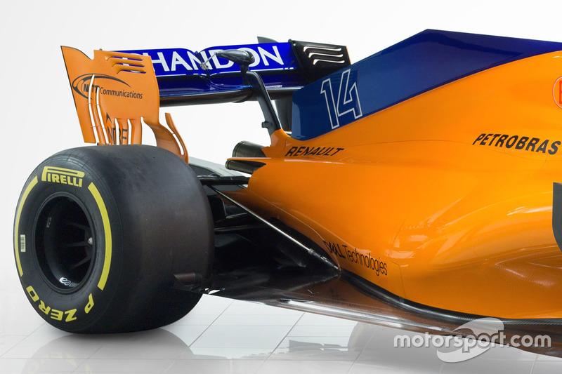 McLaren MCL33, dettaglio posteriore