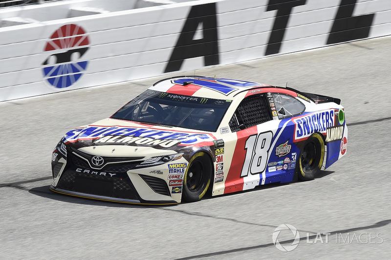 1. Kyle Busch, No. 18 Joe Gibbs Racing Toyota Camry