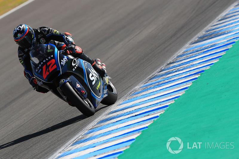 Moto2 Spanyol: Kualifikasi 3, finis 3