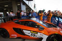 Winning car #59 Tekno Autosports McLaren 650S: Shane van Gisbergen, Alvaro Parente, Jonathon Webb