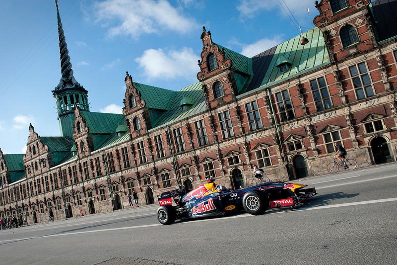 F1 Red Bull Racing show Stock Exchange
