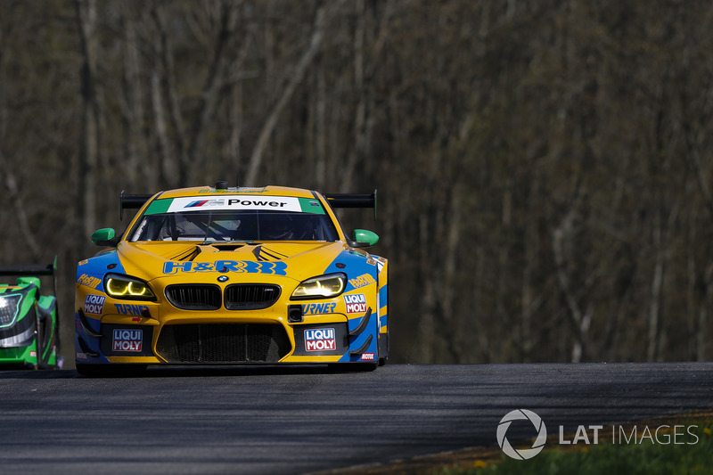 #96 Turner Motorsport BMW M6 GT3, GTD: Dillon Machavern, Bill Auberlen