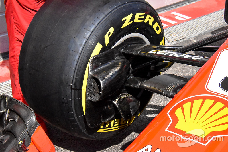 Ferrari SF71H brake duct