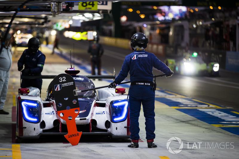 #32 United Autosports Ligier JSP217 Gibson: Юго де Саделеер, Хуан-Пабло Монтойя, Уилл Оуэн
