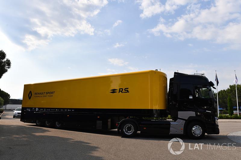 Camion Renault Sport F1 Team