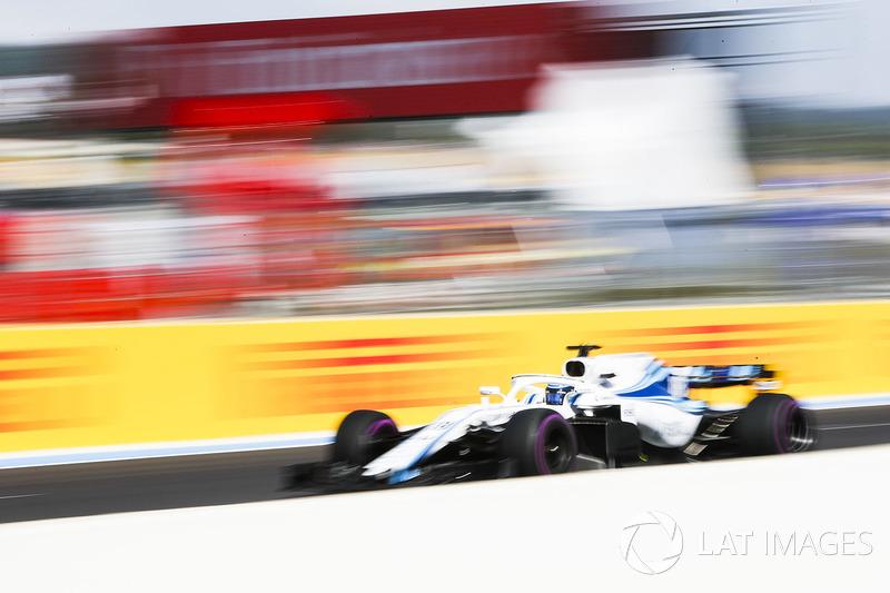 Ausfall: Lance Stroll, Williams FW41