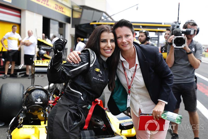 Aseel Al-Hamad, 2012 Lotus E20 Renault F1
