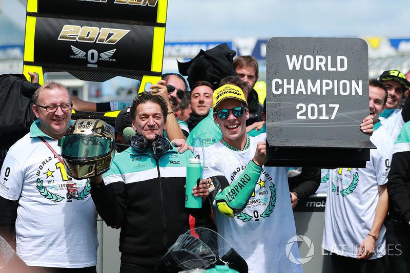Campeón del mundo Joan Mir, Leopard Racing