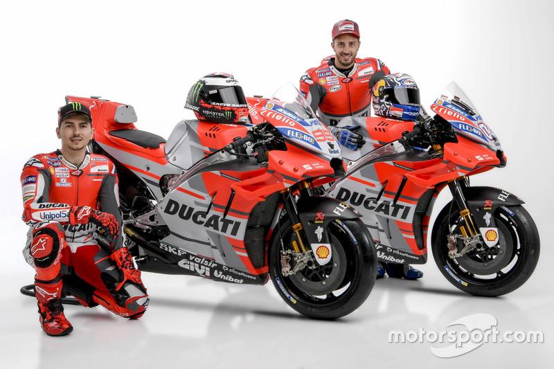Jorge Lorenzo y Andrea Dovizioso, Ducati Team